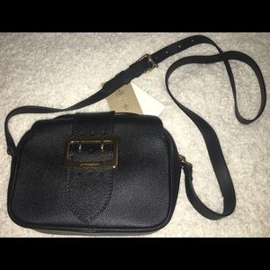 AUTHENTIC Burberry Calf Leather Small Buckle Purse